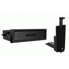 univerzální plastová přihrádka do otvoru DIN s držákem na iPhone5/5S/5C