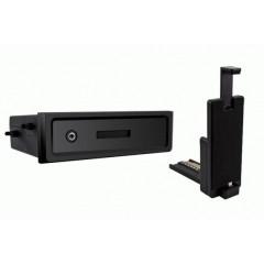 univerzální plastová přihrádka do otvoru DIN s držákem na SAMSUNG S3/S4 NOTE 1/2