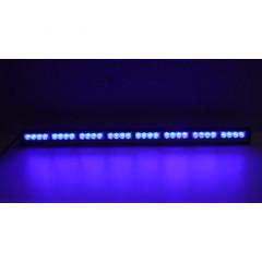 LED světelná alej, 32x 3W LED, modrá 910mm, R10 R65