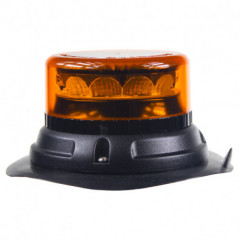 PROFI LED maják 12-24V 12x3W oranžový magnet 133x76mm, ECE R65