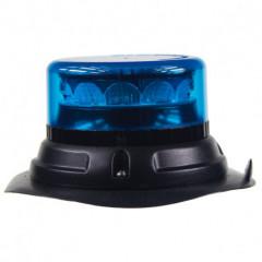 PROFI LED maják 12-24V 12x3W modrý magnet 133x76mm, ECE R65