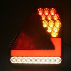 Sdružená lampa zadní LED 12-24V, ECE pravá