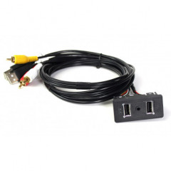 USB+JACK konektor Ford