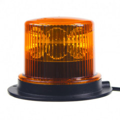 PROFI LED maják 12-24V 36x1W oranžový magnet ECE R65 130x100 mm