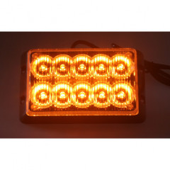 PREDATOR dual 10x1W LED, 12-24V, oranžový, CE