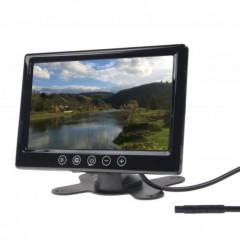 LCD monitor 9palců černý do opěrky nebo palubní desku