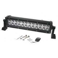 LED 24x3W prac. rampa, 10-30V, 360x82x88mm, bílá/oranžová