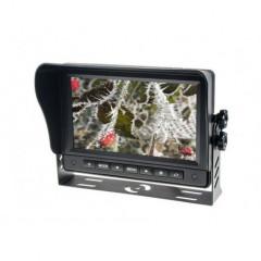 AHD 1080P,960P,720P monitor 7palců s 2x4PIN vstupy