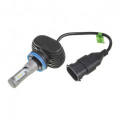 CSP LED H8 bílá, 9-32V, 4000LM, IP65