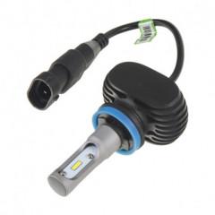 CSP LED H9 bílá, 9-32V, 4000LM, IP65