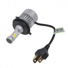 COB LED H4 bílá, 9-32V, 8000LM, IP65