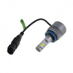 COB LED H8 bílá, 9-32V, 8000LM, IP65