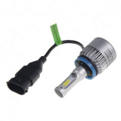 COB LED H11 bílá, 9-32V, 8000LM, IP65