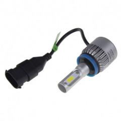 COB LED H16 bílá, 9-32V, 8000LM, IP65