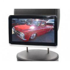LCD monitor 10,1palců OS Android/DVD/USB/SD s držákem na opěrku