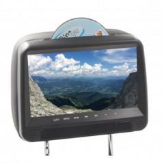 DVD/SD/USB monitor 9palců v černé opěrce