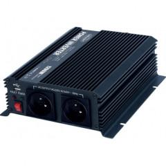 Měnič napětí z 24/230V + USB, 1200W