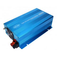 Sinusový měnič napětí z 12/230V, 1000W/displej