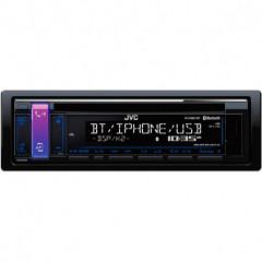 JVC autorádio s CD/MP3/USB/AUX/Bluetooth připojení/modré podsvícení/odním.panel