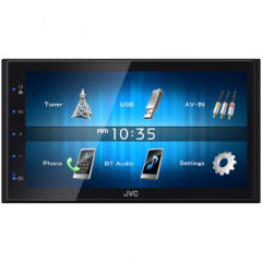 JVC 2DIN autorádio/6,8palců displej/USB/AUX/Bluetooth