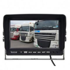 AHD 960,720P monitor 9palců s kvadrátorem a DVR
