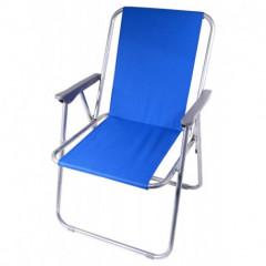 Židle kempingová skládací BERN modrá