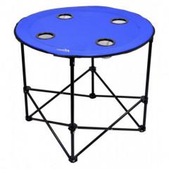 Stůl kempingový skládací SPLIT modrý