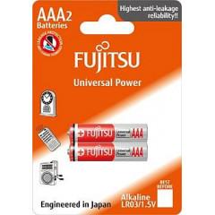 Baterie alkalická Power Fujitsu AAA, blistr 2ks
