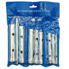 Sada klíčů trubkových 10 ks 6 - 22 mm