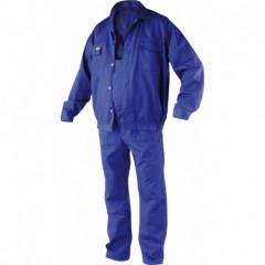 Pracovní oděv, kalhoty s laclem, blůza ERBO vel. S
