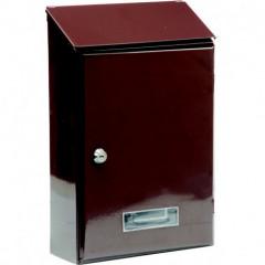 Poštovní schránka 360x230x90mm hnědá