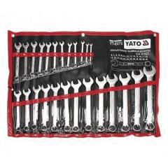 Sada klíčů očkoplochých 25ks 6 - 32 mm CrV6140