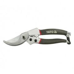 Nůžky zahradnické 200mm (do 20mm) šikmý stříh AL rukojeť