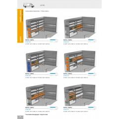 Regálový systém 3 Citroen Jumper