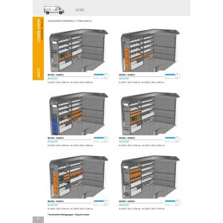 Regálový systém 5 Citroen Jumper