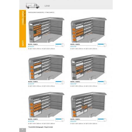 Regálový systém 7 Citroen Jumper