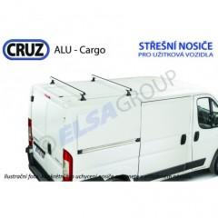 Střešní nosič Ford Connect / Citroen C15, CRUZ ALU Cargo
