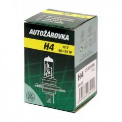 Žárovka 12V  H4  60/55W P43t box GREEN