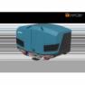 TowCar TowBox V3 modrý, uzavřený, na tažné zařízení