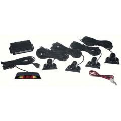 Parkovací systém 4 senzorový - LED displej, vnější senzory
