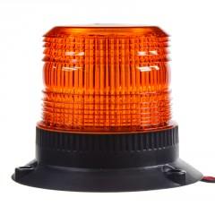 Zábleskový maják, 12-110V, oranžový, ECE R10