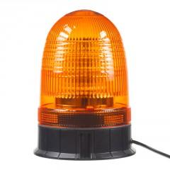 LED maják, 12-24V, 18x3W, oranžový fix, ECE R65