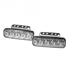LED světla pro denní svícení, 147x45mm, ECE
