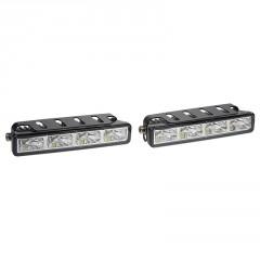 LED světla pro denní svícení, 125x23mm, ECE