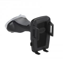 Univerzální držák s úchytem na sklo se systémem 4QF  pro telefony 46 - 76 mm