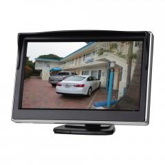 LCD monitor 5palců černý na palubní desku s možností instalace na HR držák