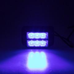 PREDATOR dual 6x1W LED, 12-24V, modrý, ECE R10 R65
