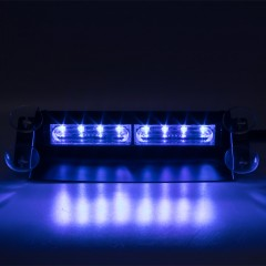 PREDATOR LED vnitřní, 8x LED 3W, 12V, modrý
