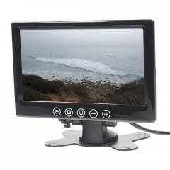 LCD monitor 7palců černý na palubní desku