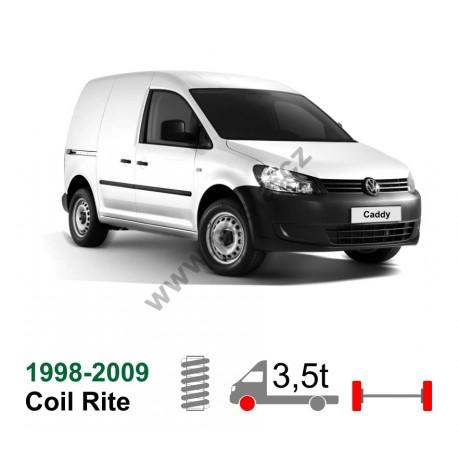 Vzduchové pérování VW Caddy (Škoda), 98-09, coil rite kit